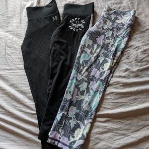 Bundle!! VS capri yoga leggings